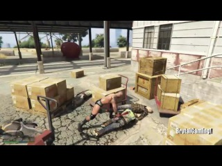 GTA 5 лучших моментов Brutal убийств 13 (GTA 5 забавных моментов Сбой компиляции)