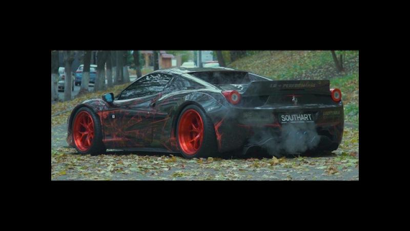 Ferrari 458 Liberty Walk | Armytrix Titanium Exhaust | Ukraine | Lushyn Films