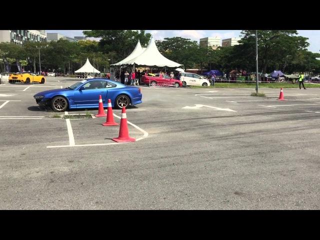 NISSAN SILVIA S15 DRIFT IN JOHOR, MALAYSIA