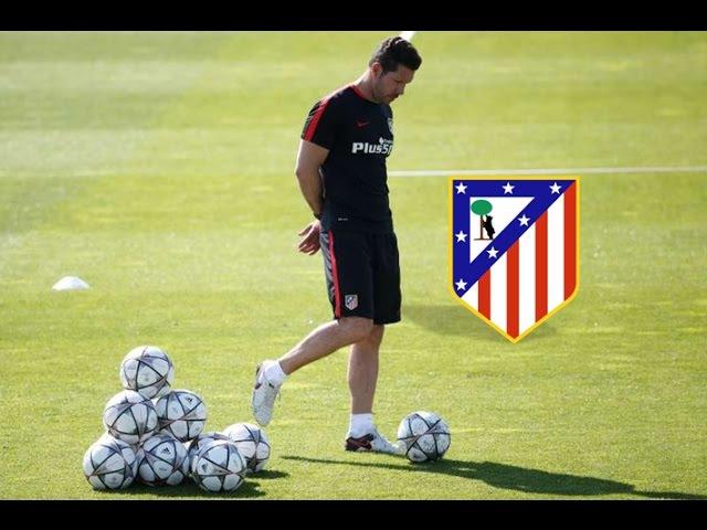 Atletico Madrid Soccer Possession Drill