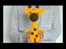 Мастер класс вяжем жирафа крючком ЧАСТЬ 1 голова