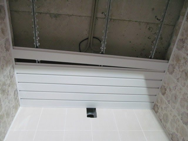 Как самому собрать реечный потолок   Пошаговая инструкция rfr cfvjve cj,hfnm httxysq gjnjkjr   gjifujdfz bycnherwbz