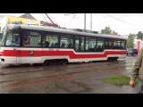 Обзор и поездка на трамвае Vario LF