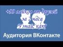 Накрутка Лайков ВК без программ за 🕙2 часа часть 1