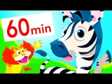Little Zebra Stripes, Which One's My Tail Animal Songs  Learning Video for Toddlers by Little Angel
