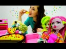 Детское видео: история игрушек кукол Монстер Хай ( школа монстров). Игрушки и игры для девочек