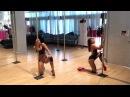 Michelle Shimmy a Maddie Sparkle - Dirty Sexy Floorwork choreo