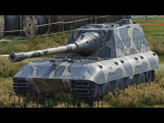 World of Tanks Jagdpanzer E100 - 6 Kills 10,4K Damage