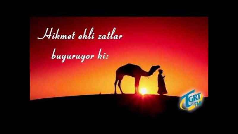 İyi Arkadaş Seçmeli Hikmet Ehli Zatlar buyuruyor ki Mustafa Toköz