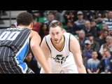 Обзор НБА Юта Джаз  Орландо Мэджик 15.01.17
