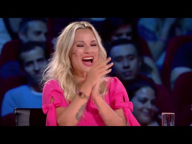 Violetta Belgium's Got Talent - bellydance audition