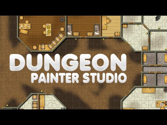 Crie mapas 2D para jogos com o Dungeon Painter Studio