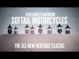 The All-New 2018 Harley-Davidson Heritage Classic  Harley-Davidson