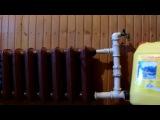 Котел для теплого водяного пола в сельской бане