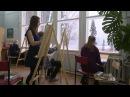 В гостях у художника Александра Борисова. 1 часть