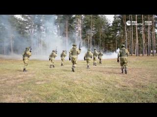 Учения спецназа ВДВ