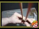 Как сделать складную двустволку из бумаги. Оружие поражающие злобные стаканчики