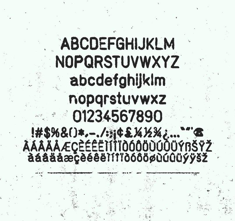 Stamp RSPK шрифт скачать бесплатно