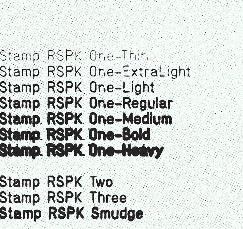 Download Stamp RSPK font (typeface)