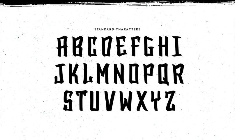 Download SA BlackTop DEMO font (typeface)