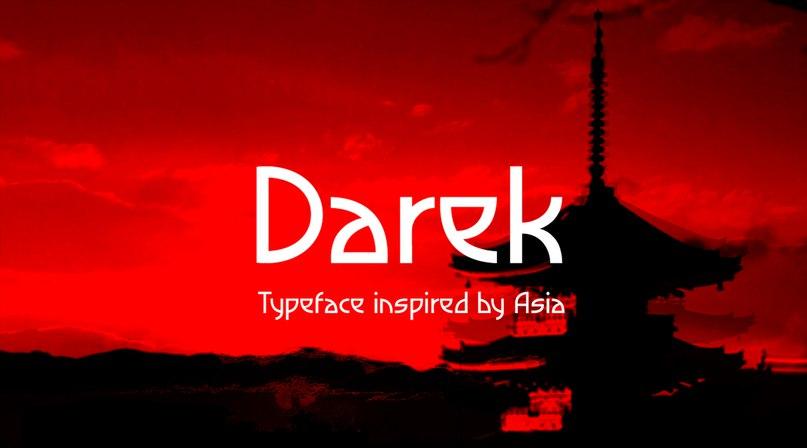 Download Darek font (typeface)