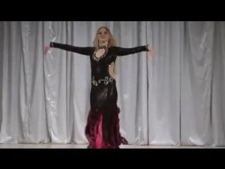 Superb Hot Arabic Belly Dance Alina Dobrolubova 7173