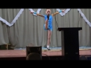 Гимнастический танец в исполнении Ляхиной Марины