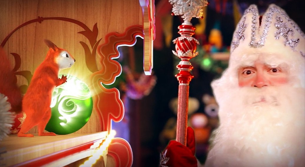 Открытки поздравления, заказать видео поздравление с новым годом от деда мороза