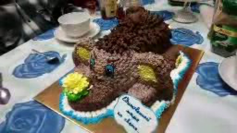 торт Мамонтенок единственной маме на свете, вес 3кг