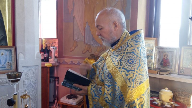 Проповедь иерея Владимира Михальцова перед Таинством Исповеди, 23.09.2017 г., г. Рязань