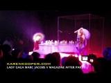 Lady Gaga - Just Dance (Acoustic) (Live @ Marc Jacobs V After Party by Karen Kooper)