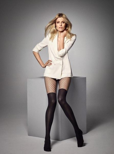 ♥ Модные колготки - имитация плотных ботфортов с колготками в сетку. Верхняя часть выполнена в виде шортиков, гигиеническая ластовица.