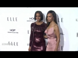 Kelly Rowland and Michelle Williams at 23rd Annual Elle Women In Hollywood Celebration