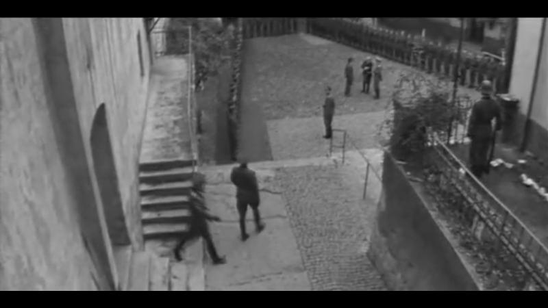 Взорванный ад.Фрагменты фильма снятые в Мукачевском замке(1967)