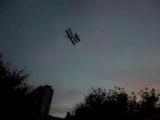 Первый полет биплана -)