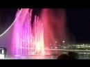 Шоу фонтанов в Олимпийском парке Сочи 2017