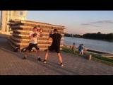 Летние тренировки на озере Кабан-6 (Казань)