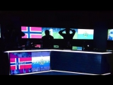 Реакция норвежского телевидения на гол Сан-Марино