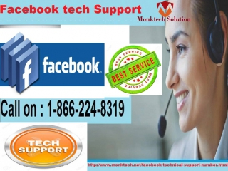 Take a glance of Facebook support number 1-866-224-8319 and Get important Help