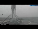 Посадка первой ступени  Falcon 9 (IRIDIUM-2) 25062017