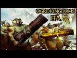 ALL OUT WAR! - Ogre Kingdoms Vs High Elves Vs Tomb Kings - Warhammer BOTET