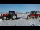 Гусеничный трактор против колёсного трактора