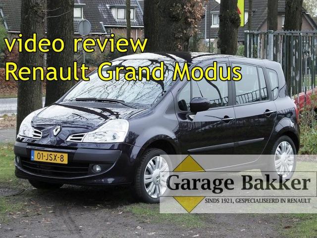 Video review Renault Grand Modus TCe 000 Exception, 0009, 01-JSX-8