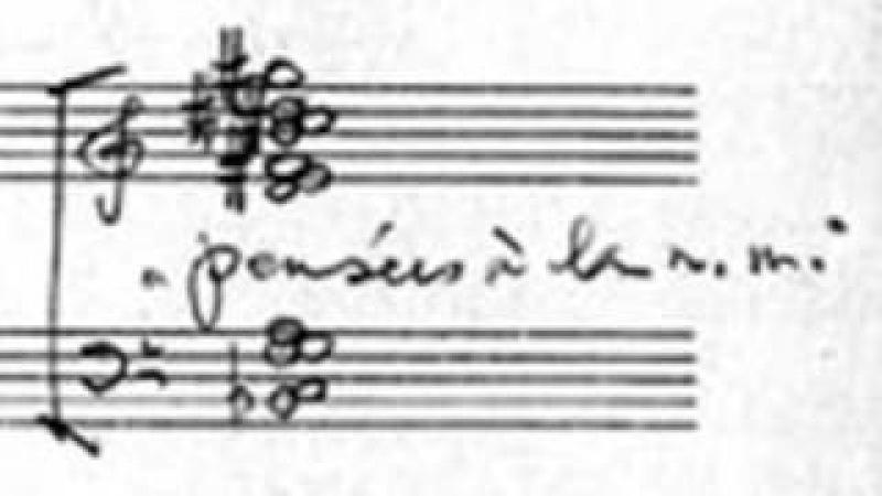 Witold Lutosławski - Trois poèmes d'Henri Michaux (I. Pensées)