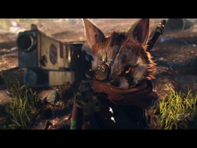 BioMutant Announcement Trailer from ex Just Cause Devs