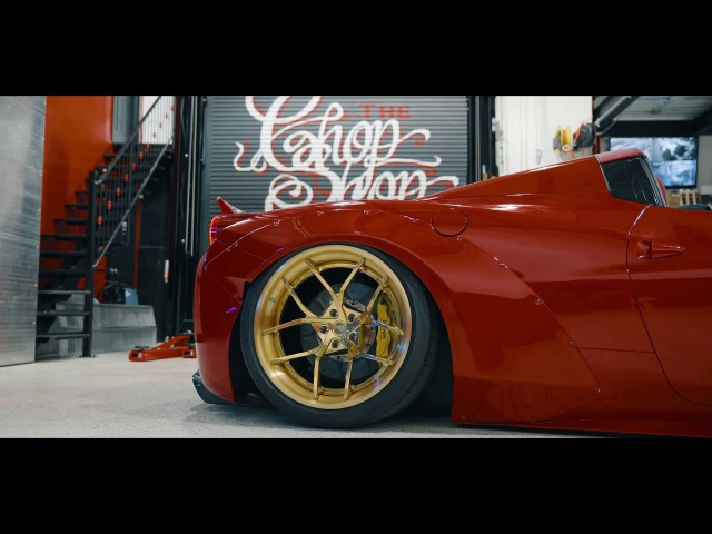 Liberty Walk Ferrari 458 | Niche Road Wheels | SchwaaFilms (4K)