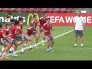 Así preparó España el partido ante Escocia en el Campeonato de Europa