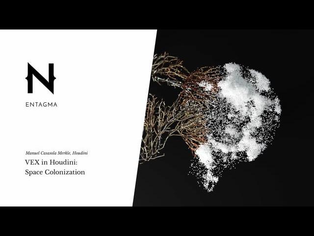 VEX in Houdini: Space Colonization