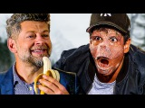 ANDY SERKIS meets his APE SON - Caesar &amp Cornelius  War for the Planet of the Apes