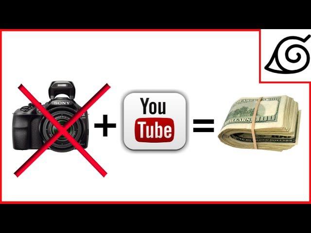 Как заработать 70 000 рублей в месяц на YouTube, НЕ СНИМАЯ ВИДЕО